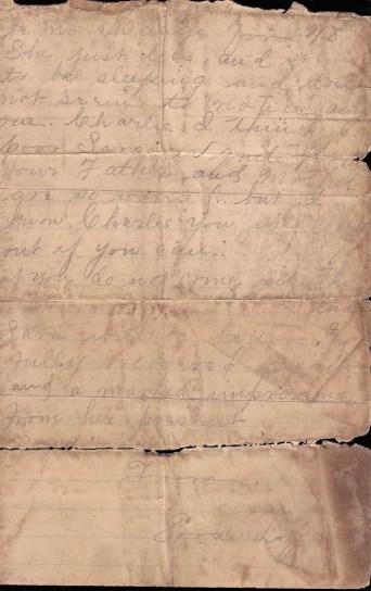 1902 Logan-Cubbage Letter p2