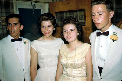 Harry, Janet, Barbara, Cork June 1959