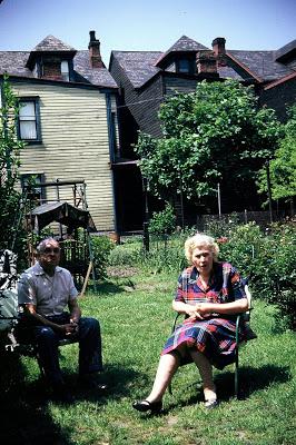 Mem & Pap Pittsburgh July 1954