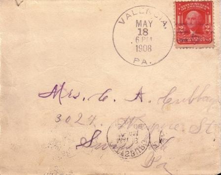 1908 Cubbage letter