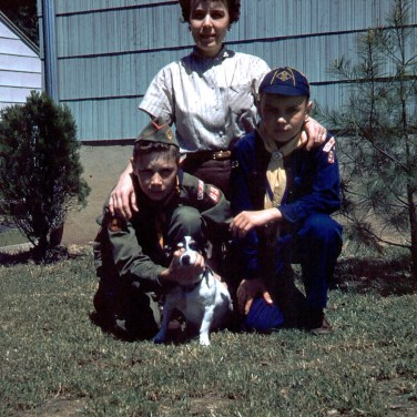 Mom, Jeff & Cork 1954crop