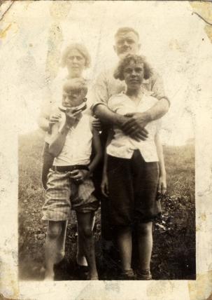 The Speck Family circa 1927.