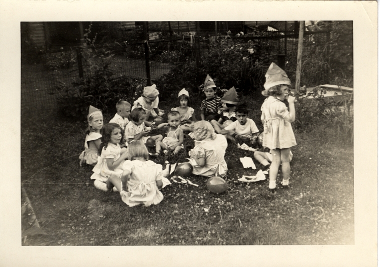 maybe Cork's birthday - summer 1945 or 1946