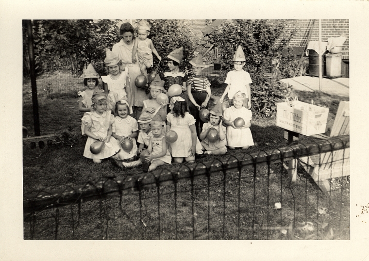 maybe Cork's birthday - summer 1945 or 1946