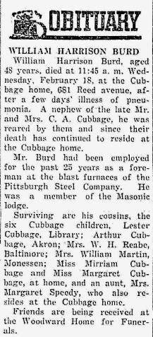 1942 burd obituary